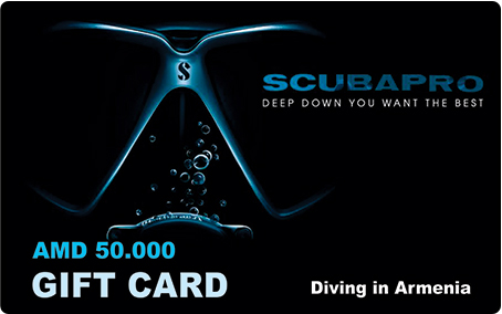 Scubapro diving shop giftcard