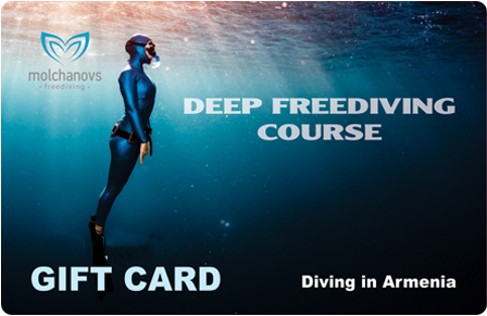 Deep Freediving in Sevan