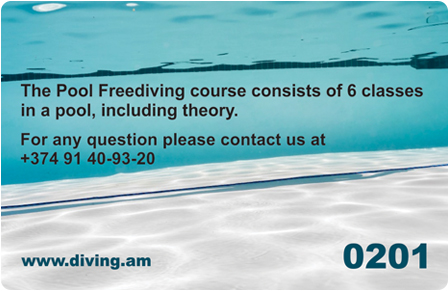 Pool Freediving